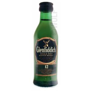 Mini Whisky Glenfiddich 12 Years 5cl